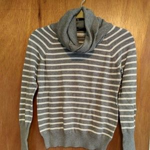 ANTHROPOLOGIE Angora/Cashmere Striped Sweater (S)